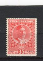 MONTENEGRO - Y&T N° 107* - MH - Nicolas 1er - Montenegro