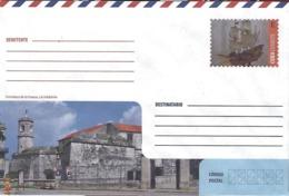 "CUBA - Enveloppe PAP Prêt à Poster -  Fortress ""La Fuerza"" (La Habana) - Schlösser U. Burgen"