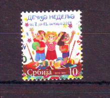 Serbia 2019 CHILD'S WEEK MNH - Serbien
