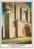 LA CHAIZE-le-VICOMTE. - Façade Fortifiée De L'Eglise Romane - La Chaize Le Vicomte