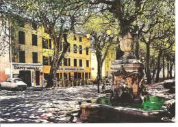COTIGNAC - La Fontaine Des 4 Saisons - Voiture : Citroen DS - Cotignac