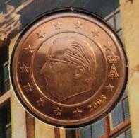 ===== 2 Cent Belgique 2005 Sorti Du BU (8 Pièces) Mais Légèrement Oxydé ===== - Belgium
