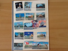 Lot 3D Stamps. - Timbres
