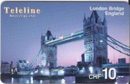 SWITZERLAND - TELELINE - LONDON BRIDGE ENGLAND - Zwitserland