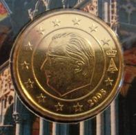 ===== 50 Cent Belgique 2005 Sorti Du BU (8 Pièces) Mais Légèrement Oxydé ===== - Belgium