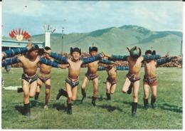 Children's Dance In Mongolia - 1971 - Mongolia