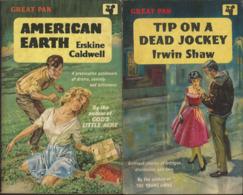 Great Pan - American Earth Erskine Caldwell & Tip On A Dead Jockey Irwin Shaw - Boeken, Tijdschriften, Stripverhalen