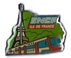 VOYAGEURS - V239 - SNCF - ILE DE FRANCE - Verso : SM - TGV