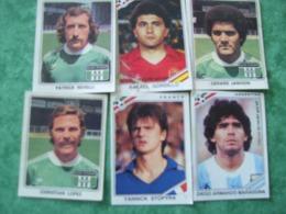 10 Cartes  -  ADHÉSIFS CHAMPIONS FRANÇAIS DU FOOTBALL - VACHE QUI RIT ET LES CHAMPIONS DU MONDE 86 - LA VACHE QUI RIT - Autres