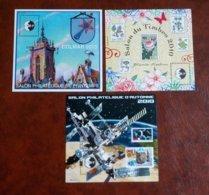 3 Feuillets CNEP N° 55-56-57 - Colmar 2010 Et Salons 2010 - CNEP