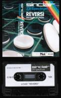 Videogioco-Sinclair ZX Spectrum 16K (REVERSI:LOAD) Cassetta G18/S-vedi Foto - Electronic Games