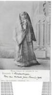 Dame Turc En Costume De Rue -Souvenir De Constantinople - Turquie