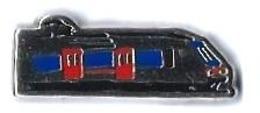 VOYAGEURS - V243 - RAME ILE DE FRANCE - Verso : SM - TGV