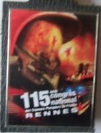 INSIGNE POMPIERS CONGRES DE RENNES - Firemen