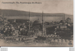 Constantinople-Vue Panoramique Des Bazars - Turquie