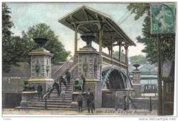 Carte Postale 59.  Lille  Le Pont Napoléon  Trés Beau Plan - Lille