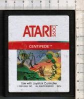 Videogioco-ATARI 2600 (CENTIPEDE) Vintage Cassetta 1982 N.2676-vedi Foto - Atari