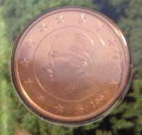 ===== 5 Cent Belgique 2007 Sorti Du BU (8 Pièces) Mais Légèrement Oxydé ===== - Belgium