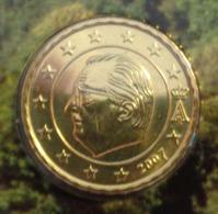 ===== 10 Cent Belgique 2007 Sorti Du BU (8 Pièces) Mais Légèrement Oxydé ===== - Belgium