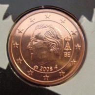 ===== 1 Cent Belgique 2008 état BU ===== - Belgium