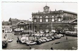 Lille  / CPSM PF / La Gare / Signalisation Lumineuse Des Galeries Barbès / Tramways / Ed. CIM - Lille