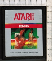Videogioco-ATARI 2600 (TENNIS)vintage Cassetta 1987 N.2680-vedi Foto - Atari