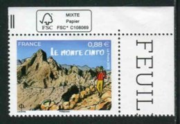 "Timbre** Gommé De 2019 En Coin De Feuille  ""0,88 € - LE MONTE CRISTO"" - Neufs"