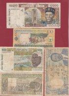 Autres-Afrique 10 Billets Dans L 'état - Banknoten