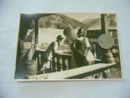 FOTO COSTUME TRADIZIONALE CONTADINO CONTADINA ROMANIA CM.12X18-9 - Mestieri