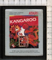 Videogioco-ATARI 2600 (KANGAROO) Vintage Cassetta 1987 N.2689-vedi Foto - Atari