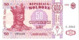 Moldova P.14 50 Lei 1992 Unc - Moldavia