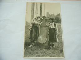 FOTO COSTUME TRADIZIONALE CONTADINO CONTADINA ARDEAL ROMANIA CM.12X18-7 - Mestieri