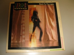 "VINYLE SERGE PONSAR ""BACK TO THE LIGHT"" 33 T WARNER / WEA (1983) - Non Classés"