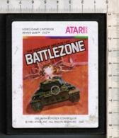 Videogioco-ATARI 2600 (BATTLEZONE) Vintage Cassetta 1983 N.2681-vedi Foto - Atari