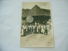 FOTO COSTUME TRADIZIONALE CONTADINO CONTADINA ARDEAL ROMANIA CM.12X18-30 - Mestieri