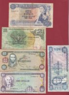 Iles Du Monde 10 Billets Dans L 'état Lot N °1 - Billets