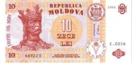 Moldova P.10  10 Lei  2004 Unc - Moldavië