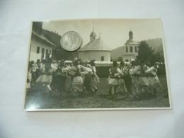FOTO COSTUME TRADIZIONALE CONTADINO CONTADINA MOLDAVIA ROMANIA CM.12X18-19 - Mestieri