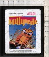 Videogioco-ATARI 2600 (MILLIPEDE) Vintage Cassetta 1984 N.26118-vedi Foto - Atari