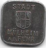 *notgeld Mulheim A/d Ruhr 50 Pfennig  1918 Fe   344.3a - [ 2] 1871-1918 : Imperio Alemán