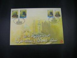 """BELG.2001 3002HK : """" Gemeenschappelijke Uitgifte Met Marokko - Emission Commune Avec Le Maroc """" - FDC"""