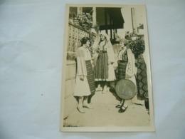 FOTO COSTUME TRADIZIONALE CONTADINO CONTADINA OLTENIA ROMANIA CM.12X18-30 - Mestieri