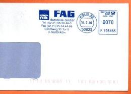 KOLN 30  2006  Lettre Entière 110x220 N° PP 481 - [7] République Fédérale