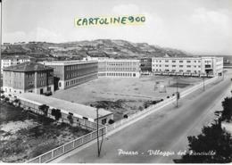 Marche-pesaro Veduta Panoramica Anni 50 Villaggio Del Fanciullo - Pesaro