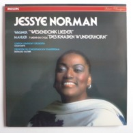 """LP/ Jesse Norman, Wagner- """" Wesendonk Lieder """"; Mahler - 7 Lieder Du Cycle Des """" Knaben Wunderhorn """" - Clásica"""