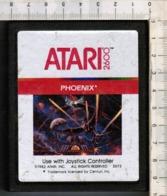 Videogioco-ATARI 2600 (PHOENIX)vintage Cassetta 1982 N.2673-vedi Foto - Atari
