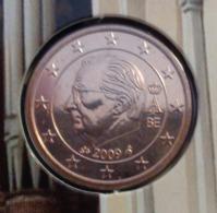 ===== 1 Cent Belgique 2009 Sorti Du BU (8 Pièces) Mais Légèrement Oxydé ===== - Belgium