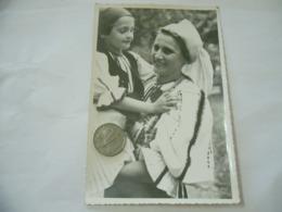 FOTO COSTUME TRADIZIONALE CONTADINO CONTADINA TRANSILVANIA ROMANIA CM.12X18-16 - Mestieri