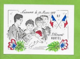 CPM Illustrateur Jean Luc Perrigault.Naissance Enfant. - Illustrateurs & Photographes