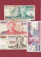 Turquie 4 Billets Dans L 'état - Turquia